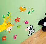 Duoles01076 kids room decoration stickers
