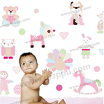 Duoles01057 kids room decoration stickers