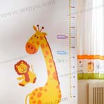 Duoles02065 kids height sticker