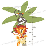 Duoles02057 kids height sticker