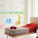 Duoles01050 kids room decoration stickers