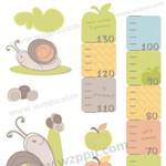 Duoles02058 kids height sticker