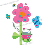 Duoles02053 kids height sticker