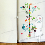 Duoles02050 kids height sticker