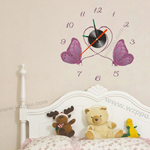 Sgamey02066 wall clock sticker