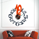Sgamey02063 wall clock sticker