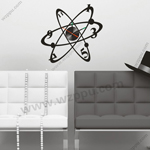 Sgamey02061 wall clock sticker