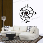 Sgamey02055 wall clock sticker