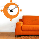 Sgamey02053 wall clock sticker